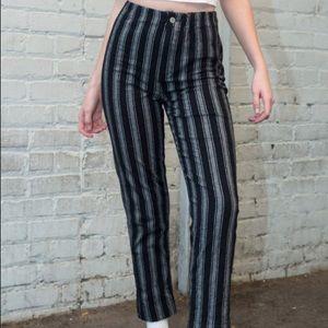 Brandy Melville high rise Tilden pants